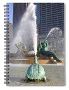 Logan Circle Fountain Spiral Notebook
