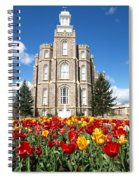 Logan Temple Spiral Notebook