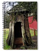 Loggers Outhouse Spiral Notebook