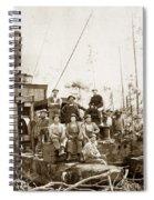 Logging, Clemons Camp No. 3 No. 1, Circa 1920 Spiral Notebook
