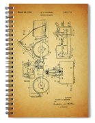 Logging Truck Patent Spiral Notebook