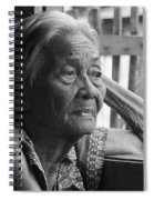 Lola Image Number 33 In Black And White. Spiral Notebook