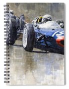 Lola Lotus Cooper Ferrari Datch Gp 1962 Spiral Notebook