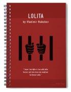 Lolita By Vladimir Nabokov Greatest Books Ever Series 019 Spiral Notebook