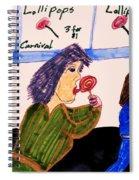Lollipops Spiral Notebook