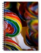 Lollipops Spiral Notebook