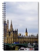 London 4 Spiral Notebook