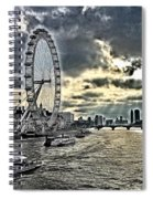 London A View From A Bridge  Spiral Notebook