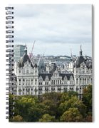 London Along The River Thames Spiral Notebook