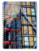 London Bankside Architecture 1 Spiral Notebook