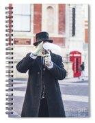 London Bubbles 3 Spiral Notebook