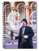 London Bubbles 4 Spiral Notebook