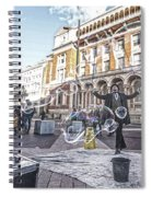 London Bubbles 8 Spiral Notebook