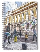 London Bubbles B Spiral Notebook