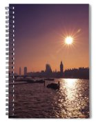 London By Night By Day Spiral Notebook