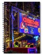 London Christmas. Star Wars. Spiral Notebook