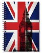 London England Big Ben Spiral Notebook