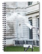 London Explosion 2 Spiral Notebook