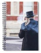 London Explosion Spiral Notebook