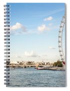 London Eye Spiral Notebook