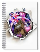 ''london'' Spiral Notebook