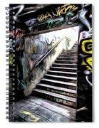 London Graffiti Art Spiral Notebook