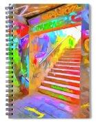 London Graffiti Pop Art Spiral Notebook