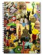 London Spiral Notebook