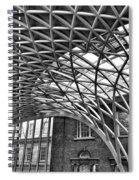 London Kings Cross  Spiral Notebook