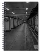 London Mile End Station Spiral Notebook