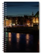 London Night Magic - Colorful Reflections On The Thames River Spiral Notebook