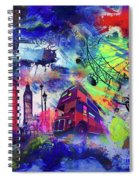 London Portrait  Spiral Notebook