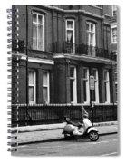 London Sixties Lambretta Spiral Notebook