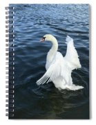 London Swan Spiral Notebook