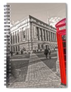London Telephone 2 C Spiral Notebook
