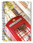 London Telephone 3 Spiral Notebook
