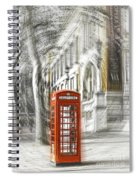 London Telephone C Spiral Notebook