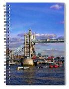 London Tower Bridge Spiral Notebook