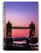 Tower Bridge, London. Spiral Notebook