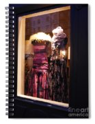 London Window By Night Spiral Notebook