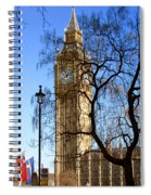 London's Big Ben Spiral Notebook
