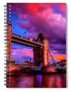 London's Tower Bridge Spiral Notebook