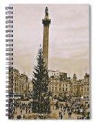 London's Trafalgar Square Spiral Notebook
