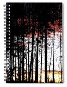 Lone Butte Sunset Spiral Notebook