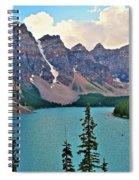 Lone Canoe Spiral Notebook