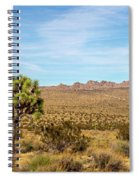 Lone Joshua Tree - Pleasant Valley Spiral Notebook