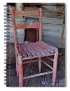 Lone Red Chair Spiral Notebook