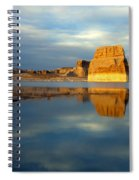 Lone Rock Glow Spiral Notebook