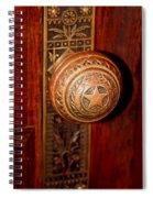 Lone Star Knob Spiral Notebook