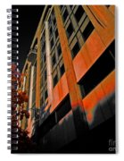 Lonely Balkony Infrared Color 80 Spiral Notebook
